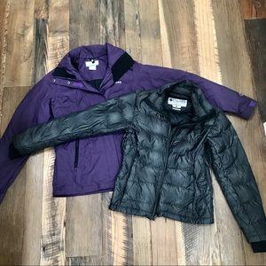 Columbia Titanium 2pc Winter Coat Wm XS